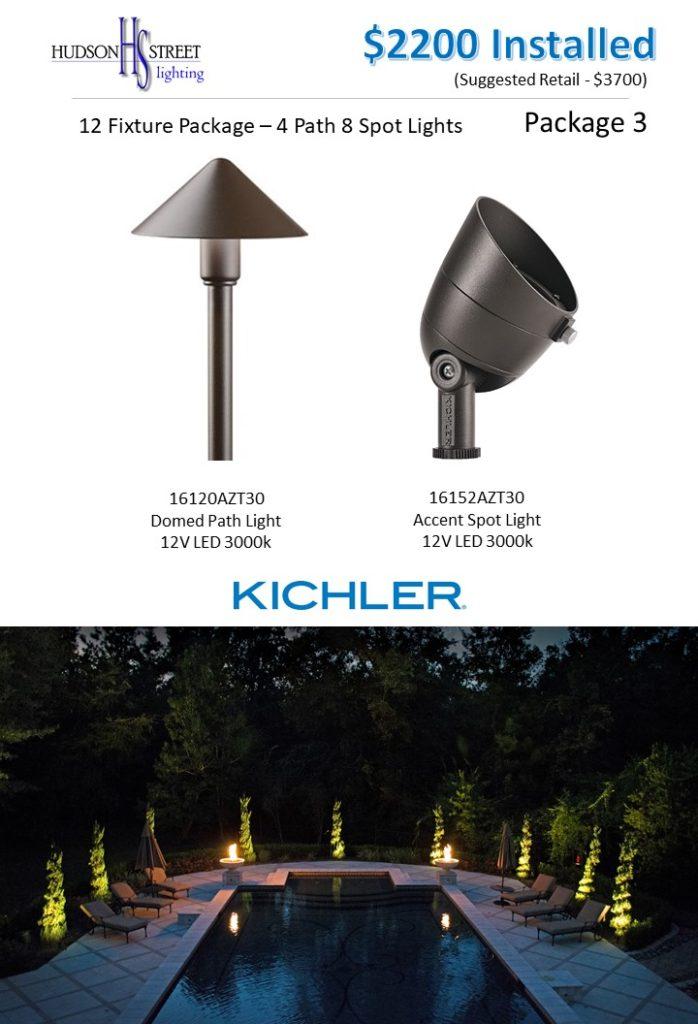 custom outdoor lighting pricing packages