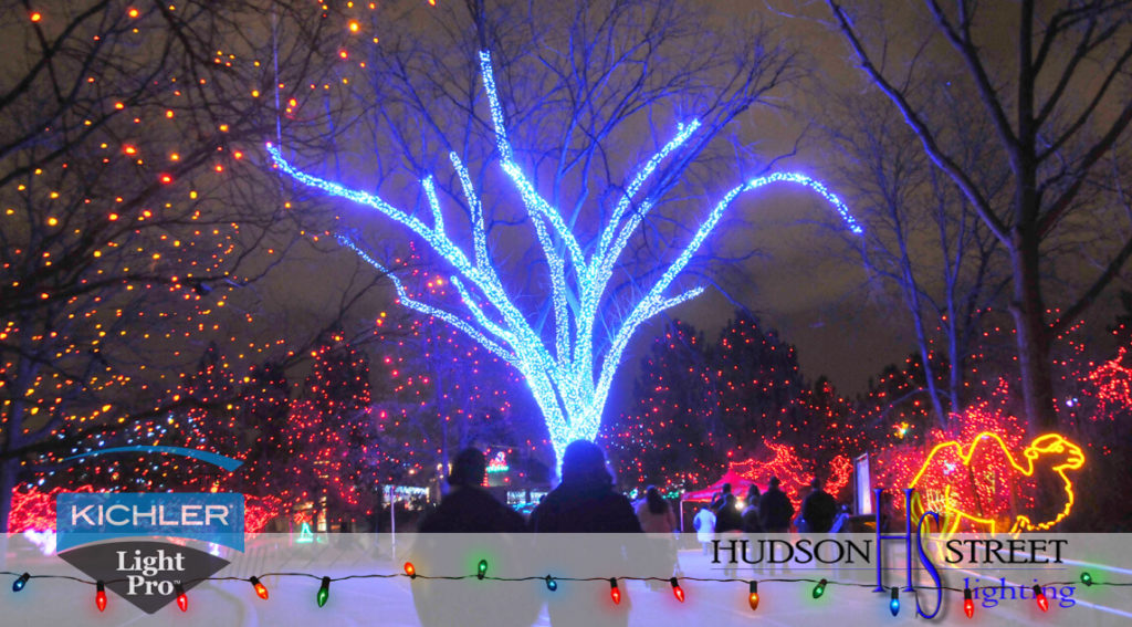 christmas holiday event lighting services Harris County, Texas