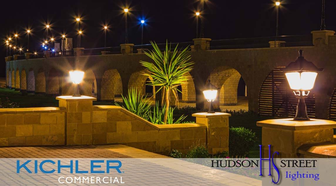Commercial low voltage landscape lighting design install texas