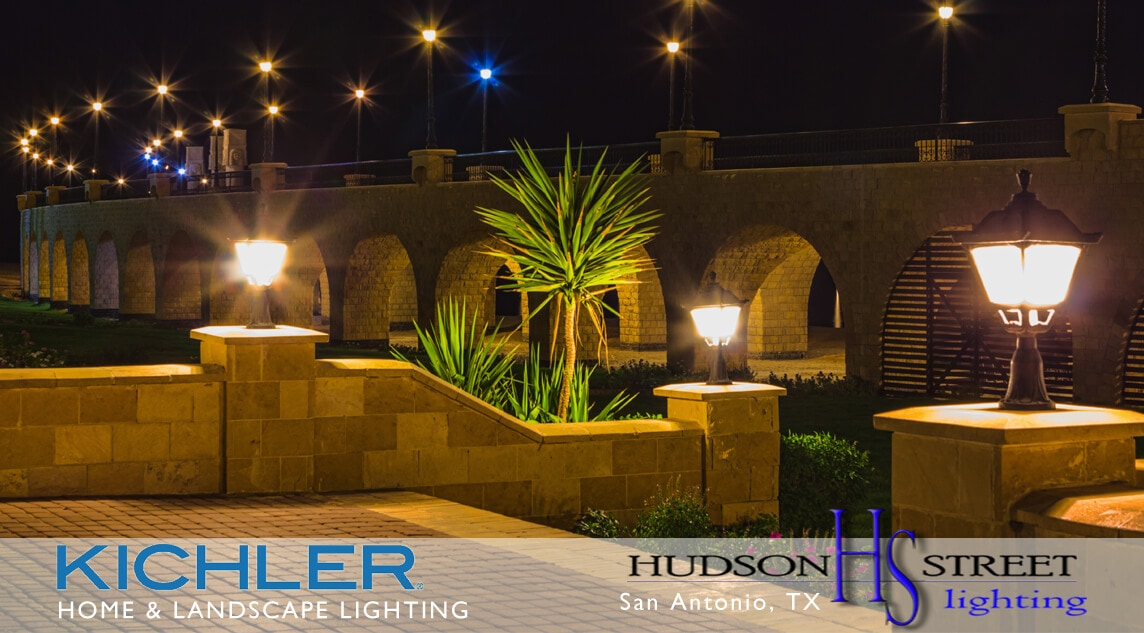 commercial landscape lighting company san antonio, tx