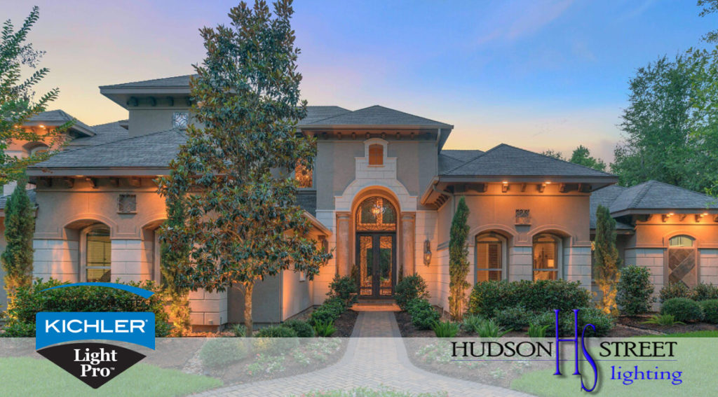 exterior home lighting design contractors Montgomery tx 77316 77356 77363