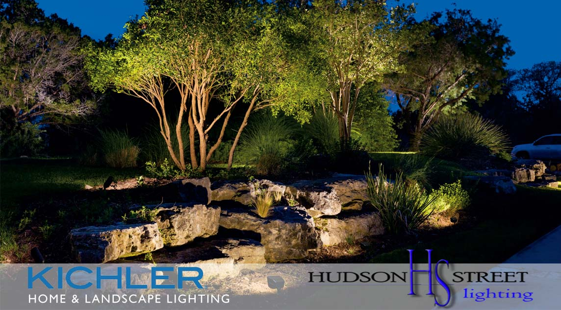 home and garden lighting installation services Texas company