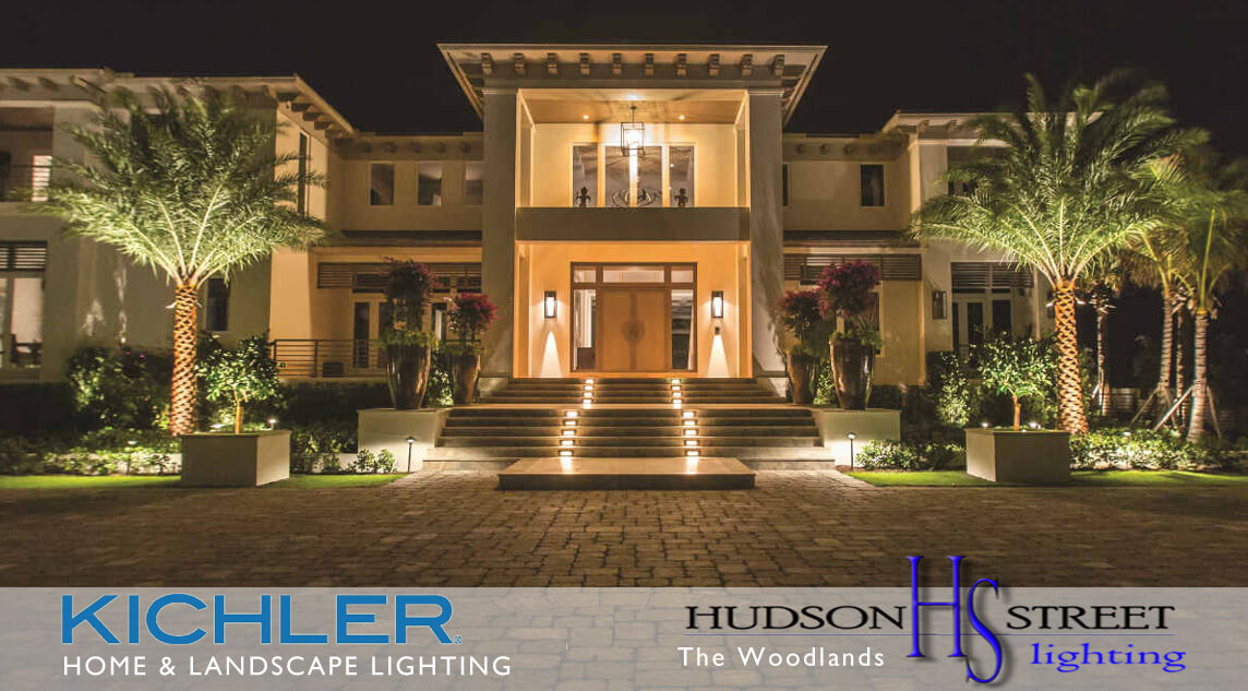hotel commercial landscape lighting contractors the woodlands, tx