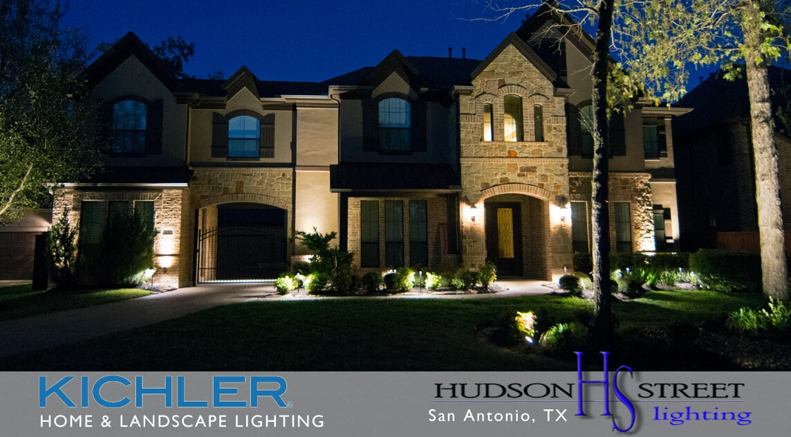 outdoor home lighting contractors san antonio, texas