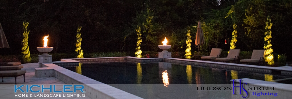 accent and spot landscape LED lighting