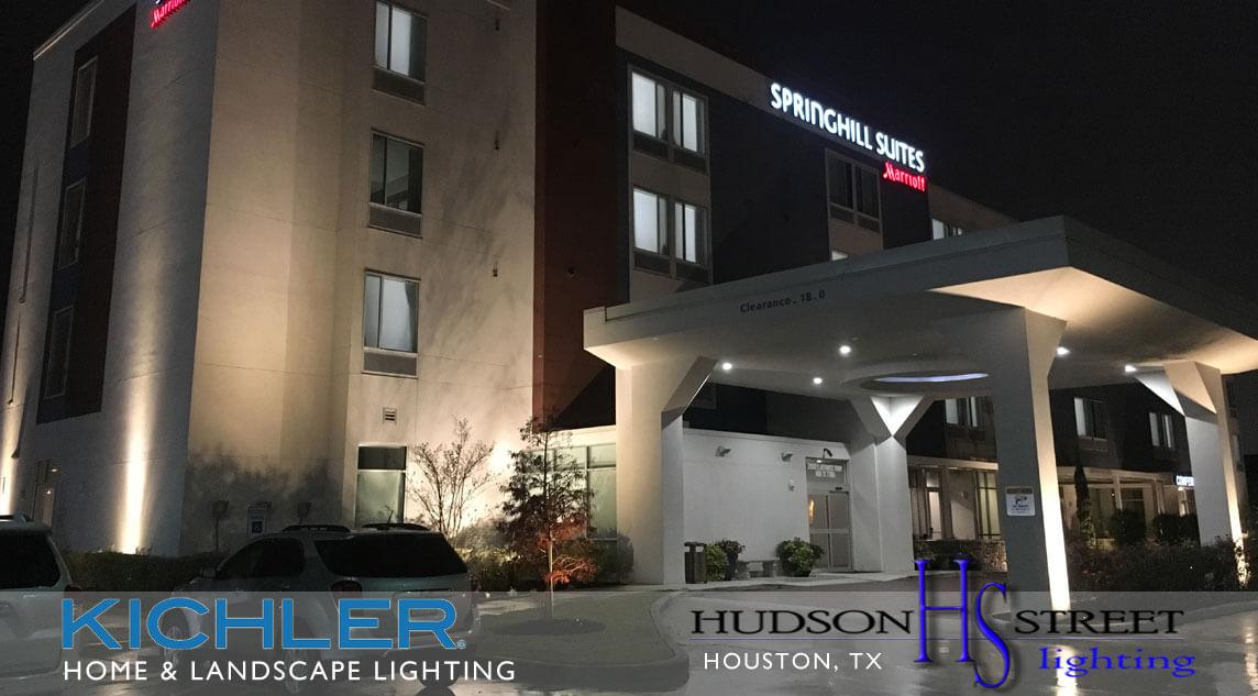 commercial landscape lighting houston tx