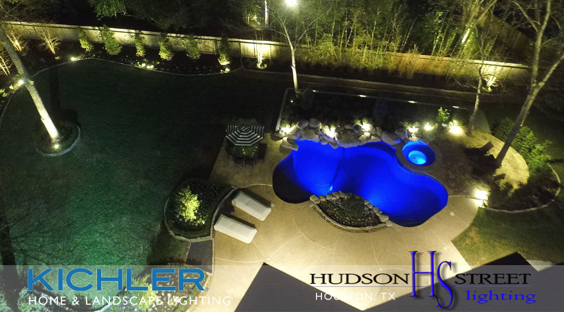 houston tx landscape lighting designers