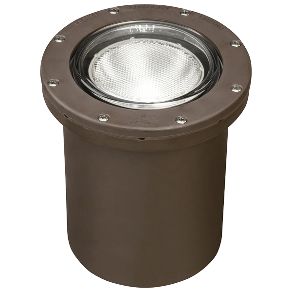 kichler led ground light canister