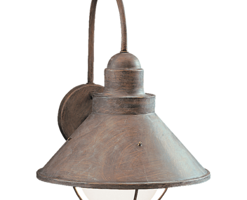 kichler rustic wall mount lighting