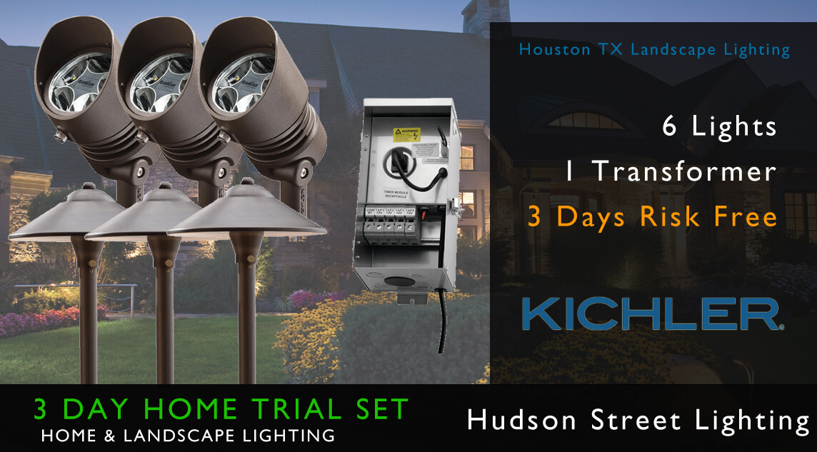 Landscape led light installers Houston TX