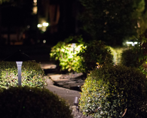 landscape lighting led design ideas