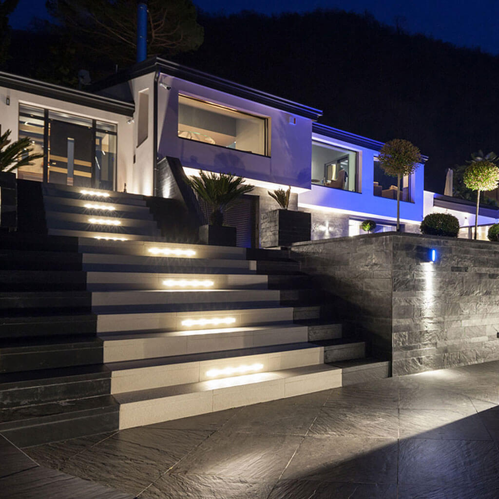 Exterior Low Volt Amp Led Custom Home Lighting Design