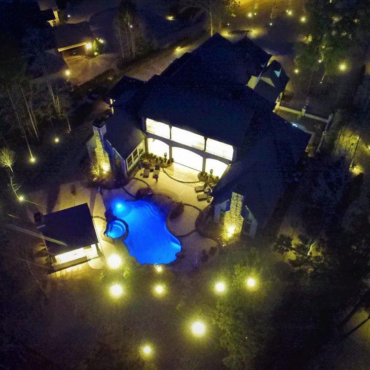 Outdoor Lighting, Landscape Lighting, LED Lighting, Hudson Street Lighting, Garden Lighting, Mosquito Misting Systems